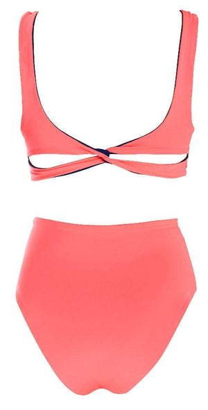 L Space Rita One Piece In Midnight Pink MTRTM18-MDP: