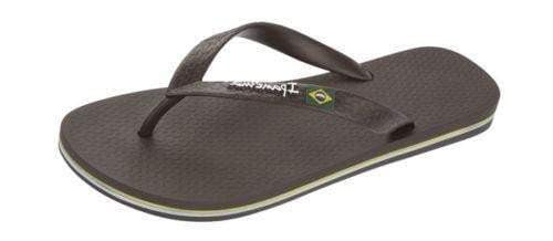 iPanema Men's Flag II Flip Flop in Brown 20834-BRN: