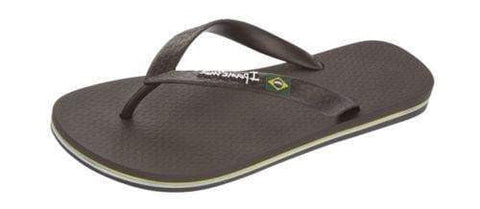 iPanema Men's Flag II Flip Flop in Brown 20834-BRN