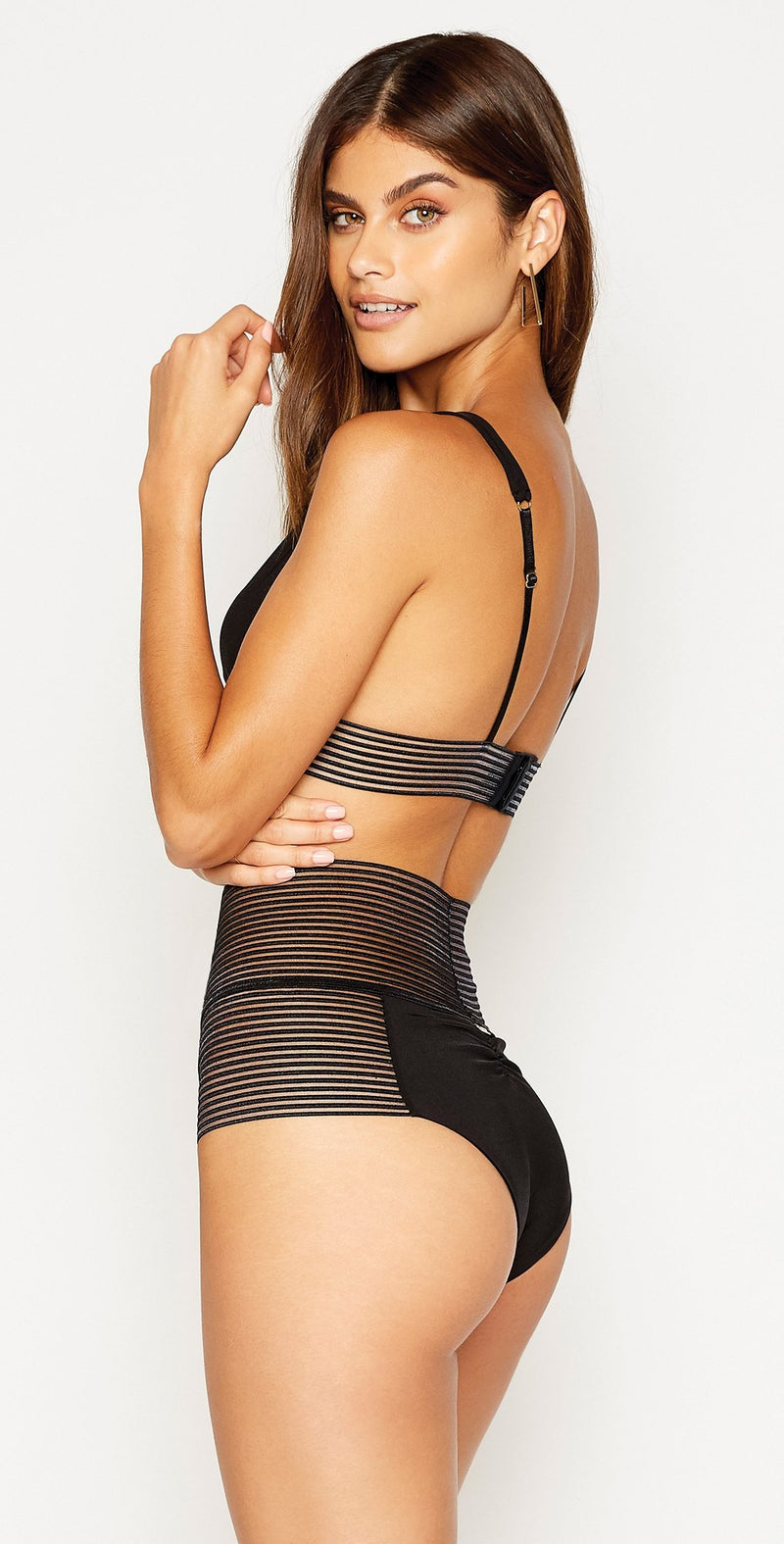 Beach Bunny New Sheer Addiction High Waist Bottom
