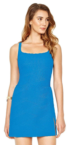 Gottex Essence Blue Coverup Skirt 18ES-413-001