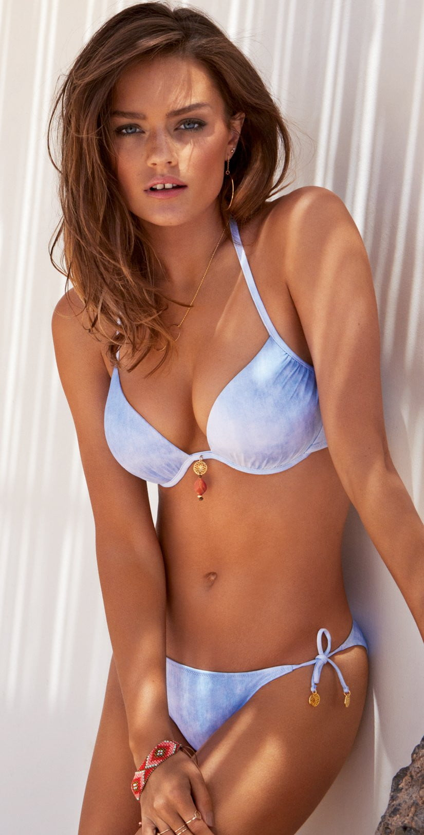 Watercult Offshore Denim Bikini Top 7527-160-341: