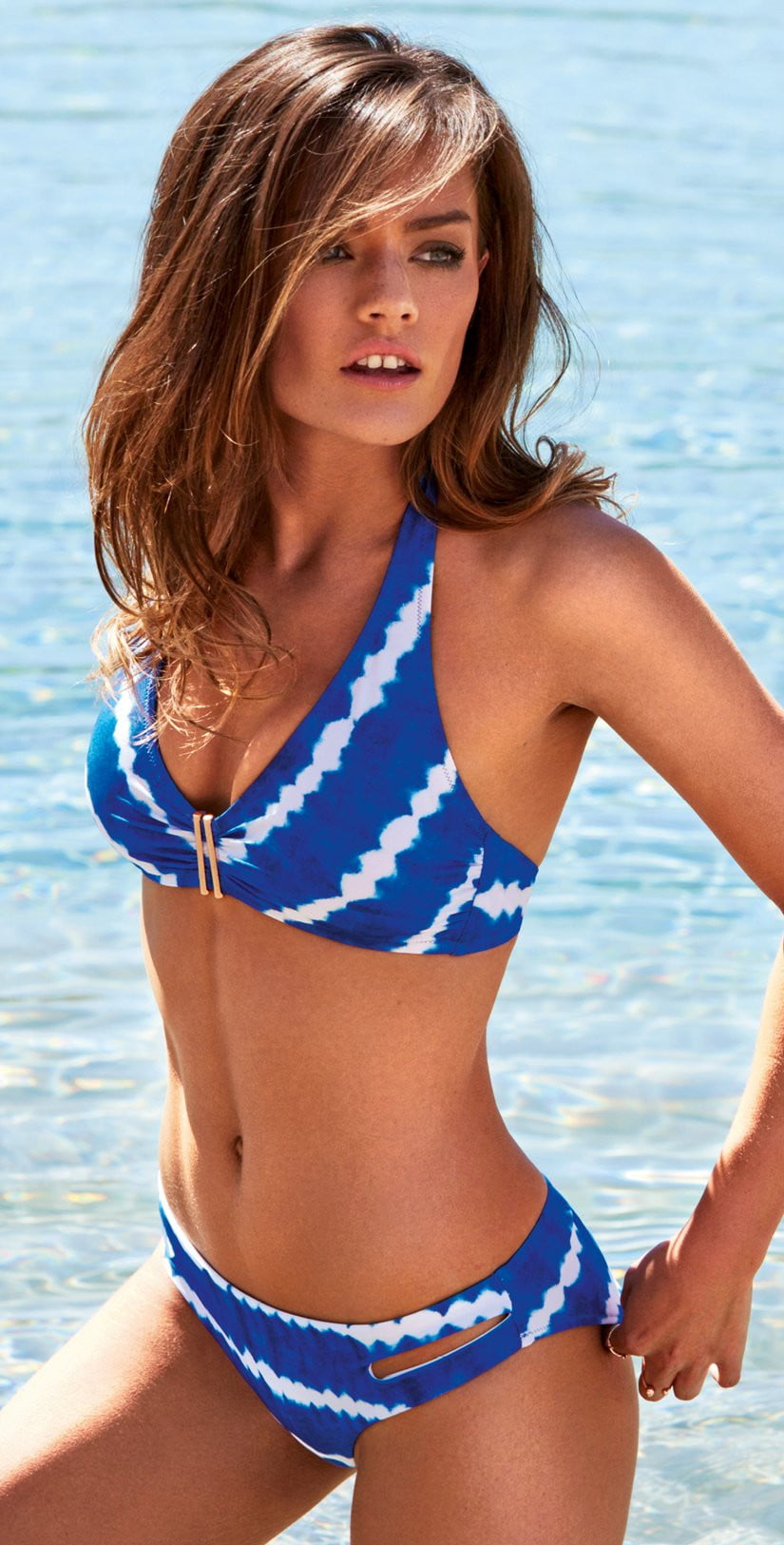 Watercult Tie Dye Tribe Bikini Top 7561-155-695: