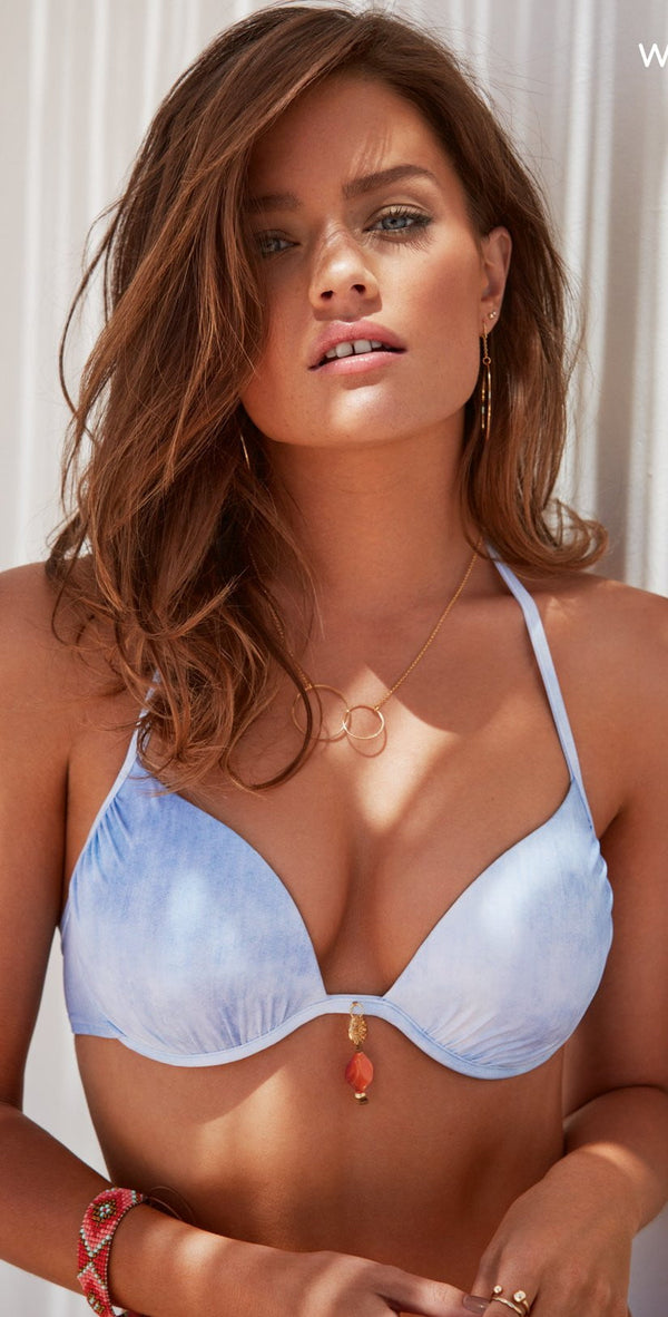 Watercult Offshore Denim Bikini Top 7527-160-341