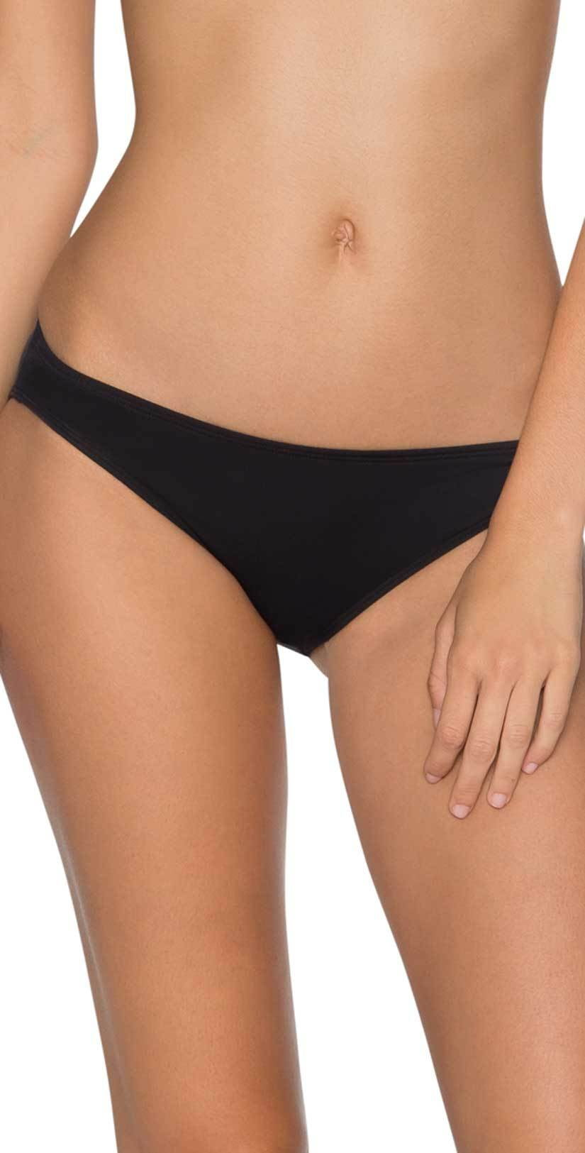 Sunsets Low Rider Bottom in Black 12B-BLCK: