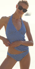 Tommy Bahama Fronds Floating Reversible Halter Tankini Top TSW32621T-033
