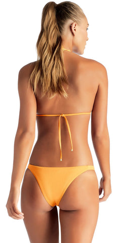 Beach Bunny Dani Skimpy Bikini Bottom in Lemon B19106B2-LEM