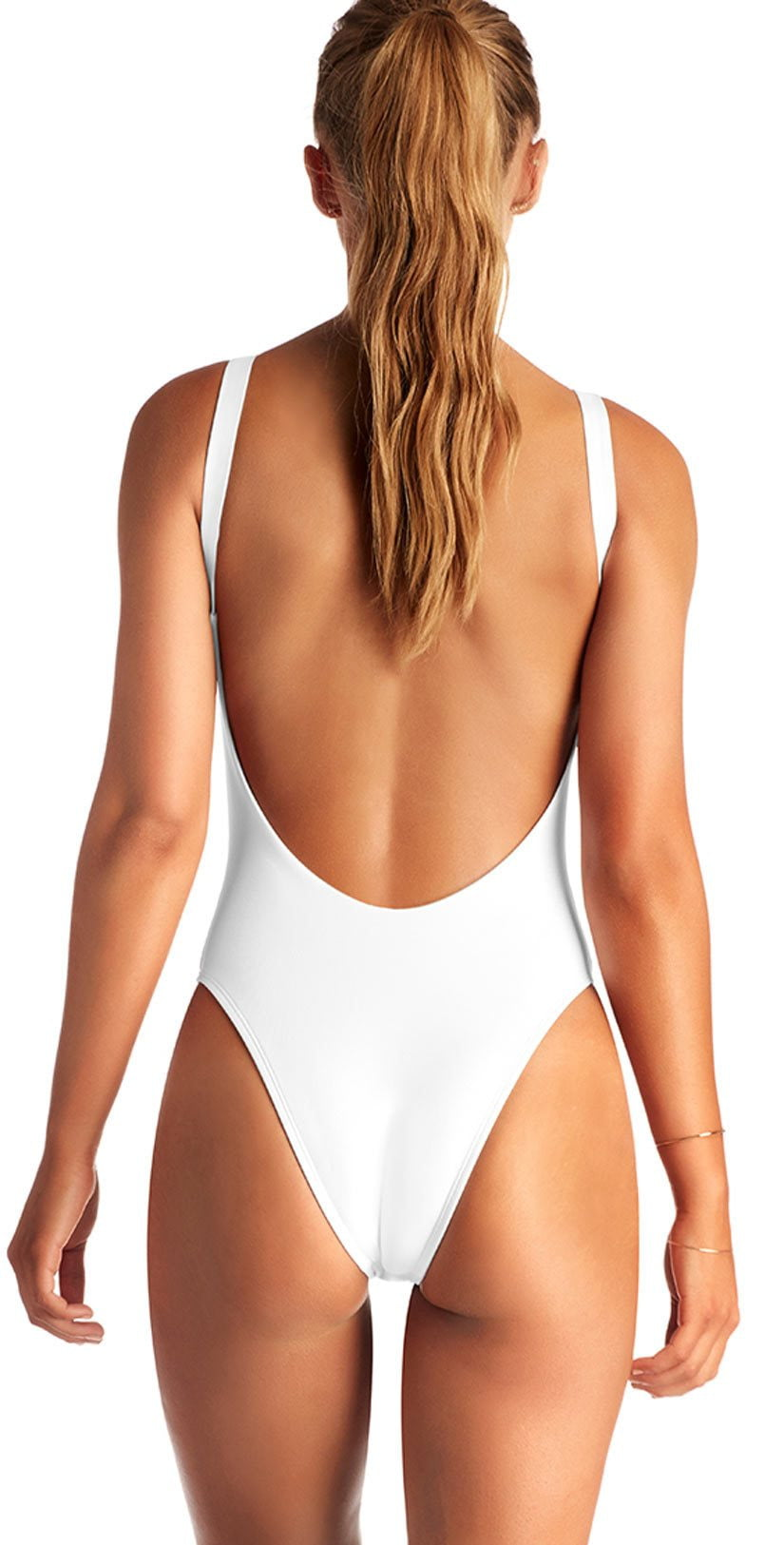 Vitamin A EcoLux Leah One Piece in White 76M-ECW: