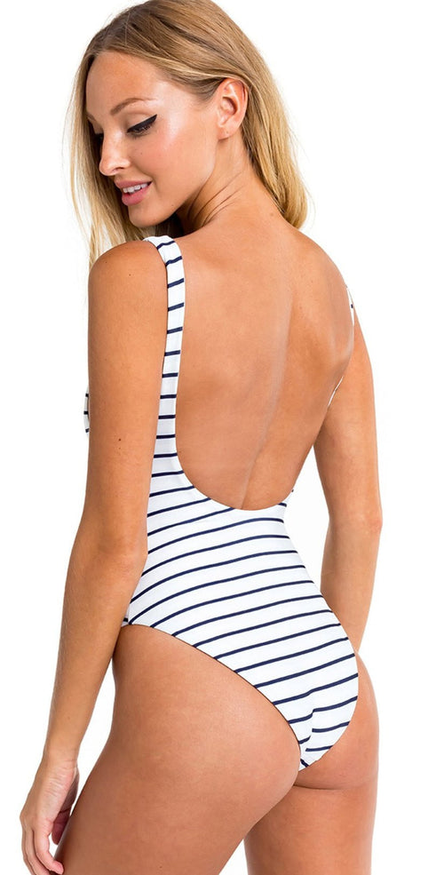 "Wildfox Candice ""Wild Thing"" One Piece Swimsuit back view"