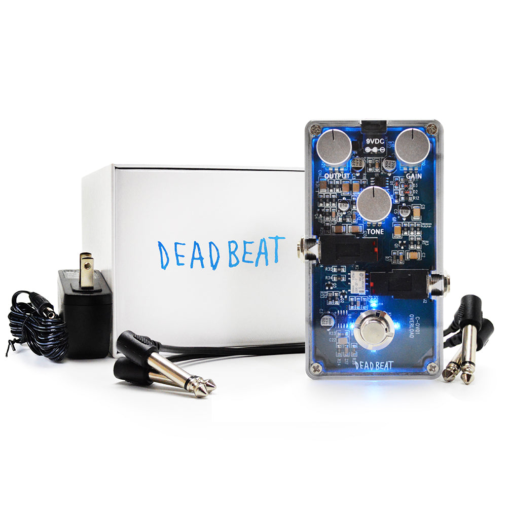 the visible overdrive deadbeat sound