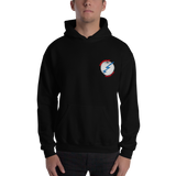 Deadbeat Sound Bolt Globe Alt 1 Hooded Sweatshirt