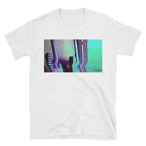 Deadbeat Glitch Short-Sleeve Unisex T-Shirt