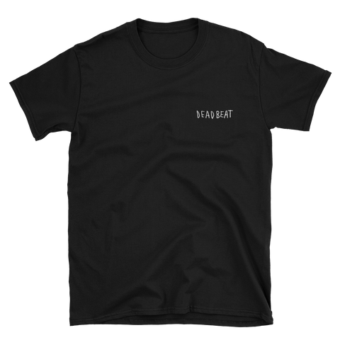 Deadbeat Black Short-Sleeve Unisex T-Shirt