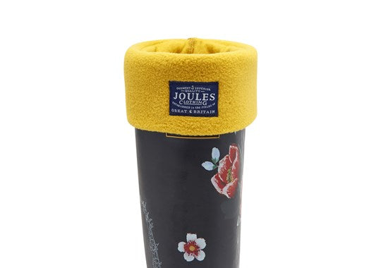 Joules Ladies Welton Fleece Welly Liners Socks Antique Gold