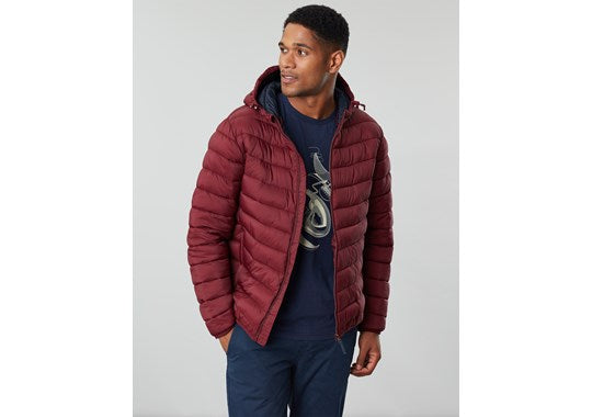 Joules Mens Hooded Go To Hooded Padded Jacket PORT 203592