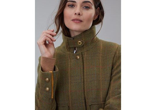 Joules Ladies Fieldcoat Tweed Jacket Mr Toad
