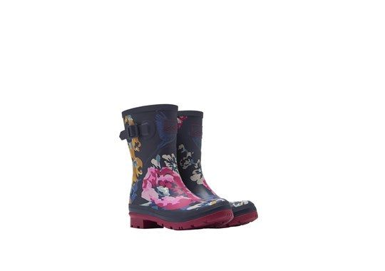 Ladies Molly Mid Height Printed Welly 30th Anniversary Floral