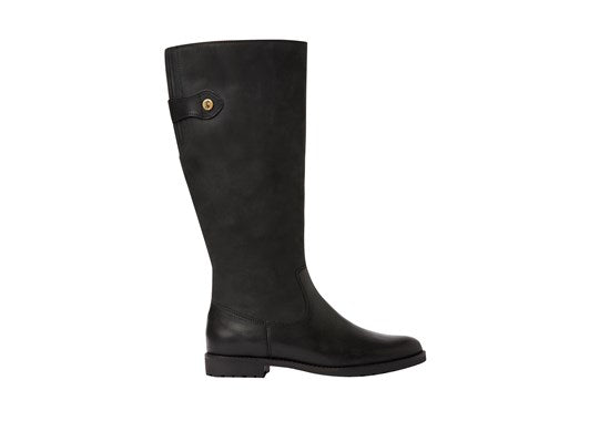 Joules Ladies Canterbury Knee High Boot Black