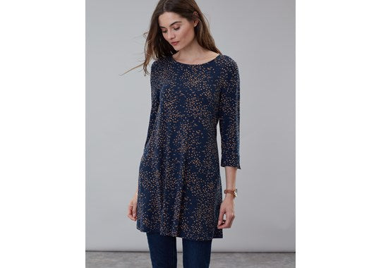 Ladies Hayden Round Neck Jersey Tunic