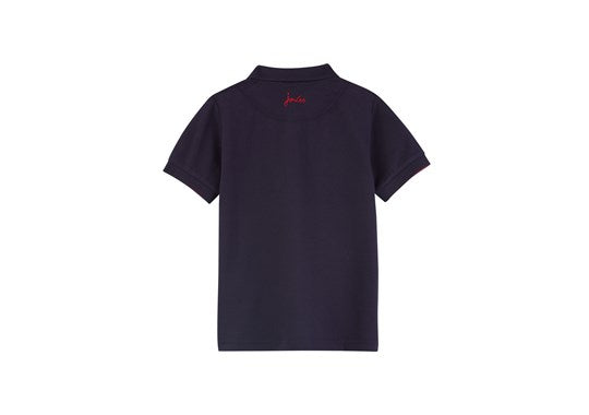 Joules Boys Woody Polo Mini Me TShirt French Navy