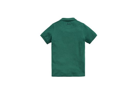 Joules Boys Woody Polo Shirt Turtle Green