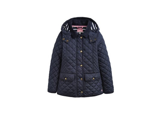 Joules Girls Newdale Quilted Coat