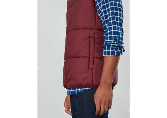 Joules Mens Caldbeck Wide Barrel Gilet - Ripstop Port