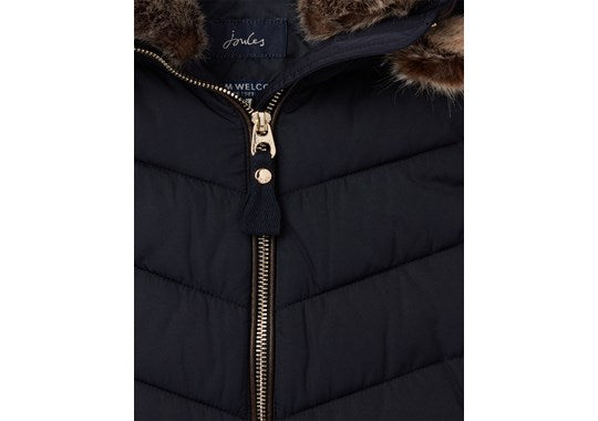 Joules Girls Alanis Quilted Gilet Warm Welcome Collection