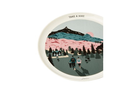 Joules Homeware Kitchen Single Porcelain Painted Side Plate White Dawn Location