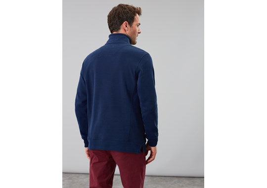 Joules Mens Deckside Half Zip Sweat Navy