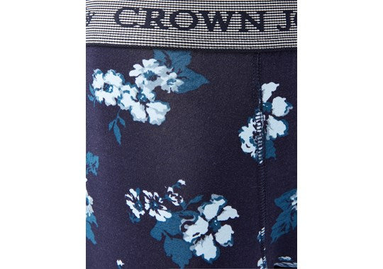 Joules Mens Crown Joules Single Underwear 30th Anniversary Floral