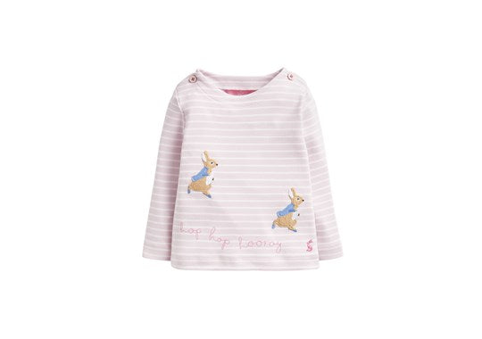Joules Baby Harriet Official Peter Rabbit Collection Applique Top