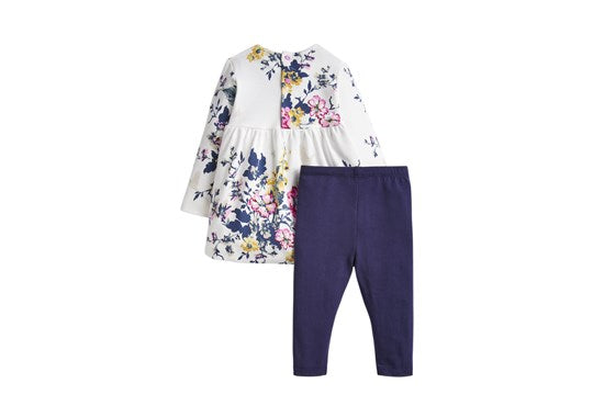 Joules Baby Christina Dress And Legging Set 30th Anniversary Collection