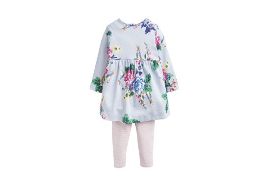 Joules Baby Christina Dress And Legging Set Official Peter Rabbit Collection
