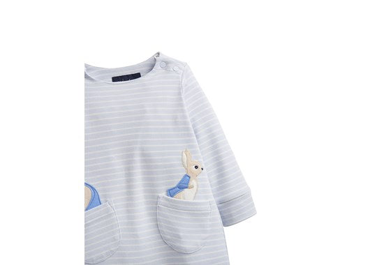 Joules Baby Gracie Applique Babygrow Official Peter Rabbit Collection
