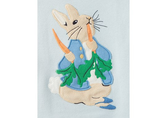 Joules Joules Baby Byron Applique Top And Trouser Set Official Peter Rabbit Collection