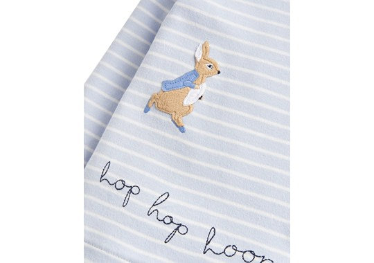 Joules Baby Hoppy Jersey Applique Top Official Peter Rabbit Collection