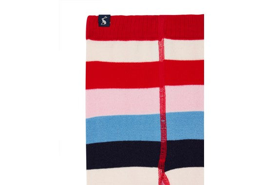 Joules Girls Anikins Character Tight Red Stripe