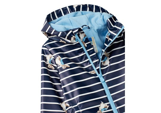 Joules Boys Skipper Waterproof Rubber Coat Official Peter Rabbit Collection