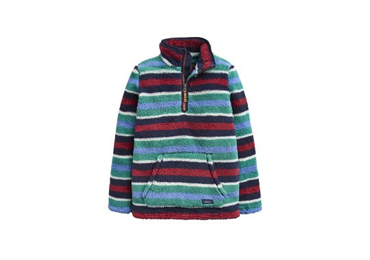 Joules Boys Woozle Fleece Overhead Multi Stripe