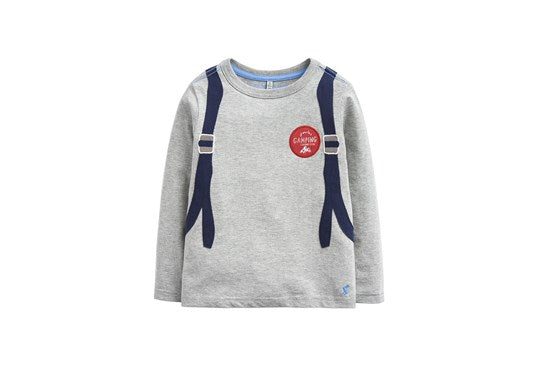 Joules Boys Animate Applique T-Shirt Back Pack