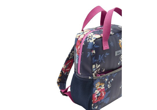 Joules Girls Adventure Rubber Backpack 30th Anniversary Print