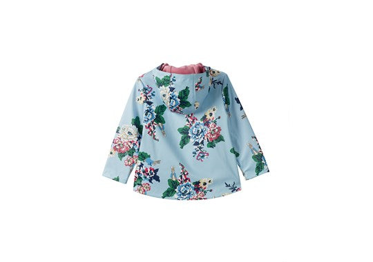 Joules Girls RAINDANCE PRINT OFFICIAL PETER RABBIT™ COLLECTION SHOWERPROOF RUBBER COAT