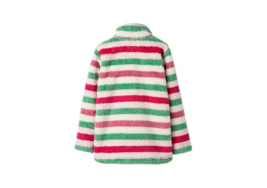 Joules Girls Merridie Half Zip Fleece