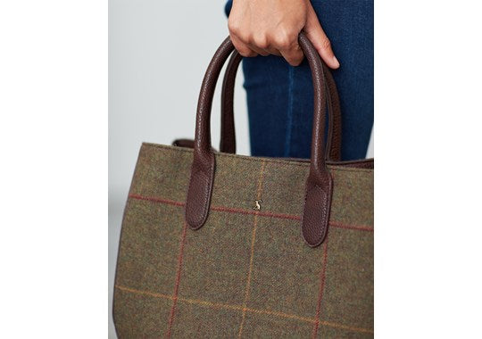 Joules Ladies Thernwell Tweed Grab Bag Mr Toad 30th Anniversary