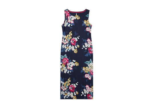 Joules Ladies Riva Midi Print Jersey Dress 30th Anniversary Floral Print