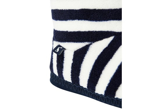 Ladies Homestead Slipper Sock French Navy Stripe