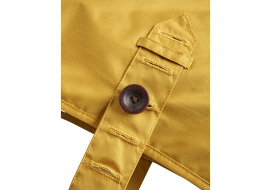 Joules x Rosewood Pet Dog Coat Rain Jacket Water Resistant Yellow Antique Gold