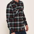 Brakeburn Mens Check Shirt Green