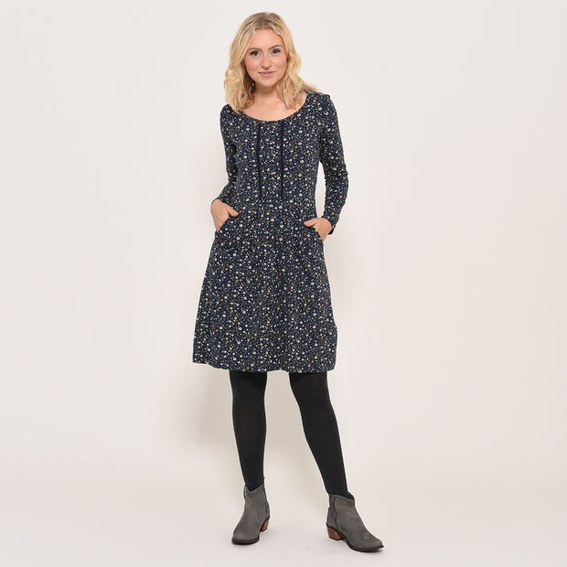 Brakeburn Ladies Ditsy Pleated Dress